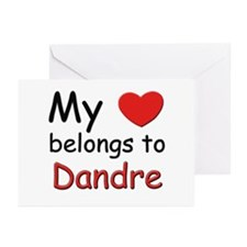My heart belongs to dandre Greeting Cards (Package