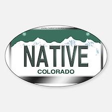 colorado_licenseplates-native3 Decal
