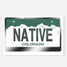 colorado_licenseplates-na Postcards (Package of 8)