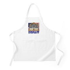 Beware the Republican Attack Machine BBQ Apron