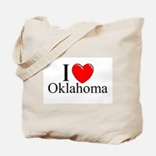 """I Love Oklahoma"" Tote Bag"