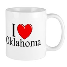 """I Love Oklahoma"" Coffee Mug"