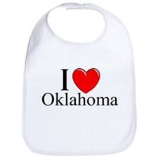 """""""I Love Oklahoma"""" Bib"""