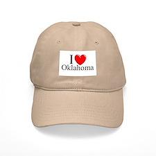 """""""I Love Oklahoma"""" Baseball Cap"""