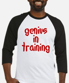 genius_in_training Baseball Jersey