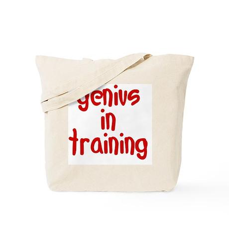 genius_in_training Tote Bag