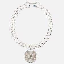 7Angels10x10BlkT Charm Bracelet, One Charm