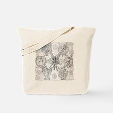 7Angels10x10BlkT Tote Bag