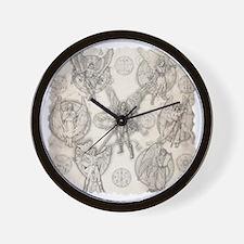 7Angels10x10BlkT Wall Clock