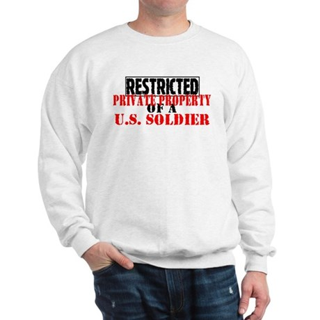 Restricted Private Property o Sweatshirt