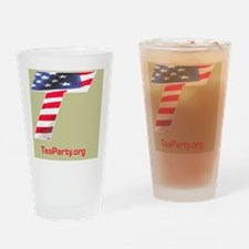 Tea Party Drinking Glass