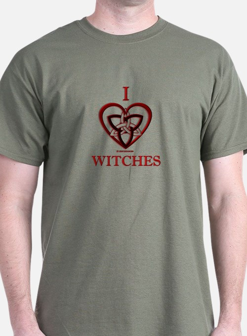 I love Witches T-Shirt