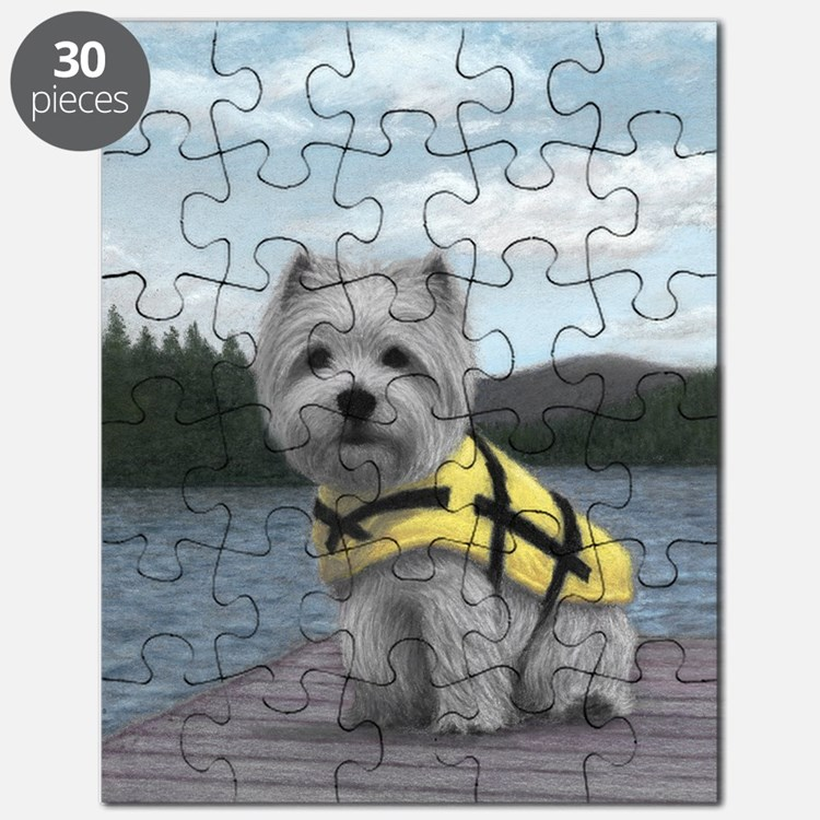 Truman at the Lake Puzzle