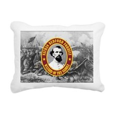 Forrest (battle)2 Rectangular Canvas Pillow