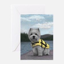 Truman at the Lake Greeting Card