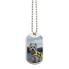 Truman at the Lake Dog Tags