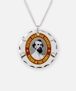 Forrest (no flag) Necklace Circle Charm