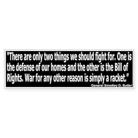 Anti-War: War for Profit (Bumper)