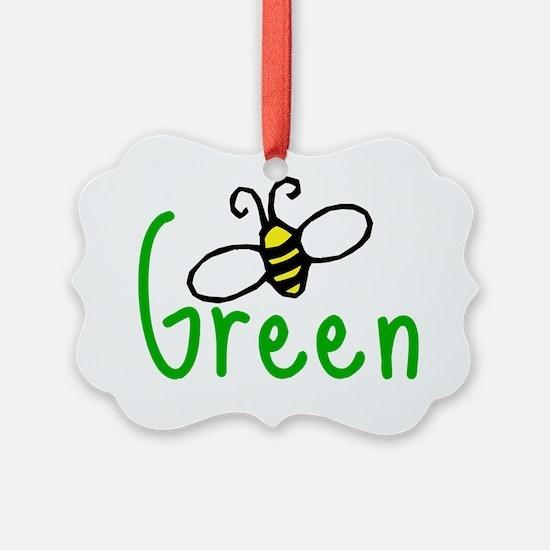 bee_green Ornament