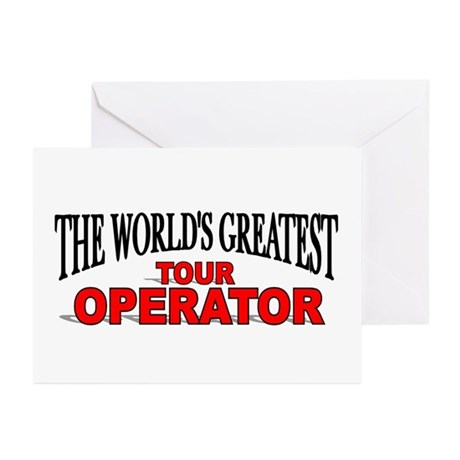 """The World's Greatest Tour Operator"" Greeting Card"