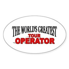 """""""The World's Greatest Tour Operator"""" Decal"""