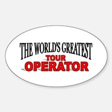 """The World's Greatest Tour Operator"" Decal"