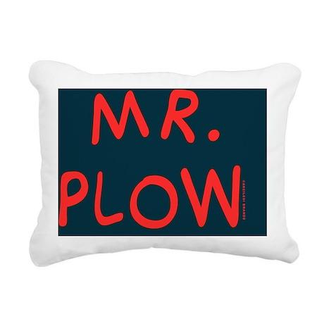 Mr Plow Rectangular Canvas Pillow
