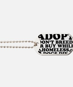 Adopt Homeless Dog Tags