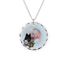 Wolfs Moon T Necklace