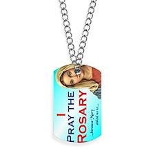 pray_water2 Dog Tags