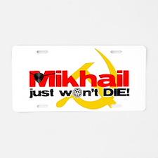2-Mikhail Aluminum License Plate