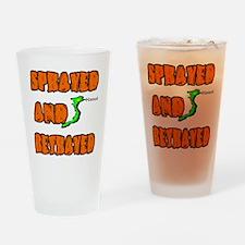SPRAYED Drinking Glass