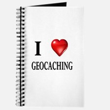 I love geocaching Journal