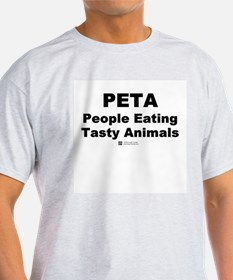 People Eating Tasty Animals - Ash Grey T-Shirt