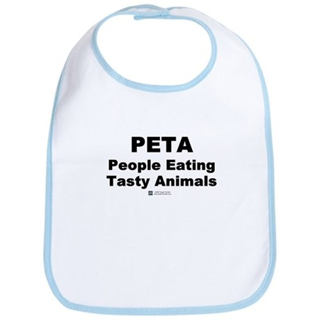 People Eating Tasty Animals - Bib
