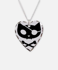 pirate_kitty_shape Necklace