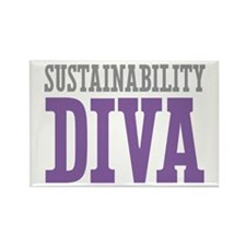 Sustainability DIVA Rectangle Magnet (10 pack)
