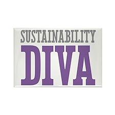 Sustainability DIVA Rectangle Magnet