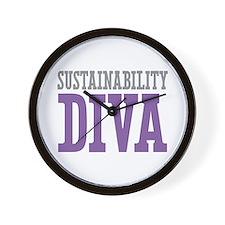 Sustainability DIVA Wall Clock