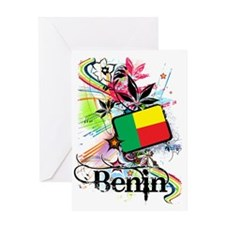 flowerBenin1 Greeting Card
