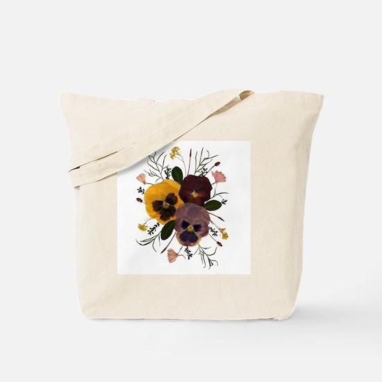 3-pansy_ncard Tote Bag