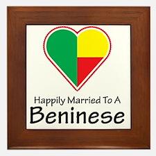 happilymarried1Beninese1 Framed Tile