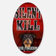 Silent Kill greeting card Decal