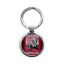 Do Wah Diddy Die rect mag Round Keychain