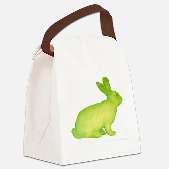 glo bunny Canvas Lunch Bag
