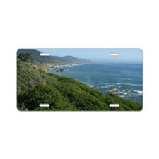 Highway One Aluminum License Plate