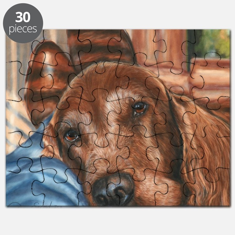 boys n boots Irish Setter Puzzle