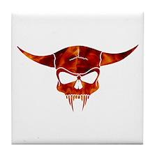 Devil Skull Tile Coaster