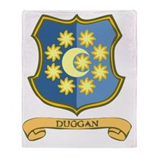 Duggan-Coat-of-Arms.gif Throw Blanket