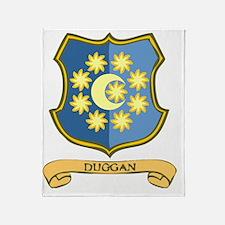 Duggan-Coat-of-Arms.gif Throw Blanket